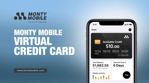 Monty Mobile Virtual Credit Card